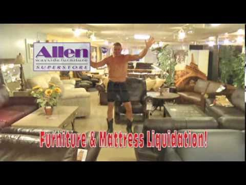 Crazy Allen Wayside Furniture Commercial