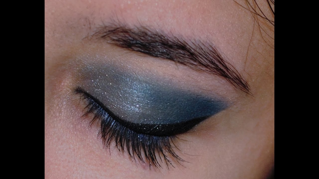soft blue smokey eye makeup tutorial pupart benecos