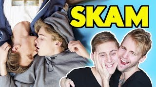 SKAM - Even and Isak (EVAK) GAY COUPLE REACTION