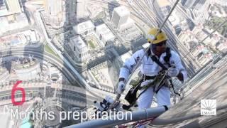 NYE Behind the Scenes Burj Khalifa Fireworks 2016