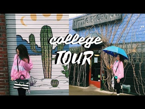 COLLEGE TOUR VLOG I UNIVERSITY OF ARKANSAS
