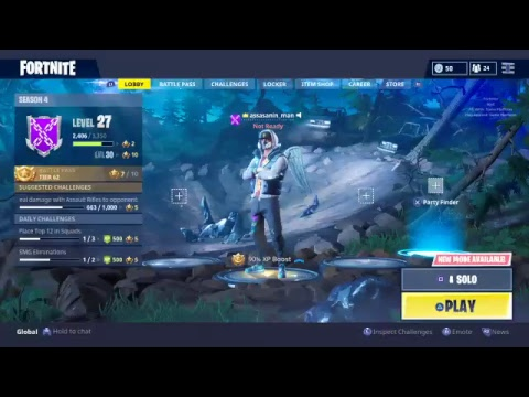 Fornite: Just playing some games