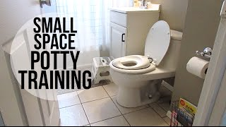 SMALL SPACE POTTY TRAINING | Organization + Favorites