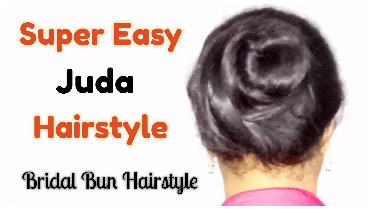 How To Make Buns Hairstyle For Girls Step By Step Juda