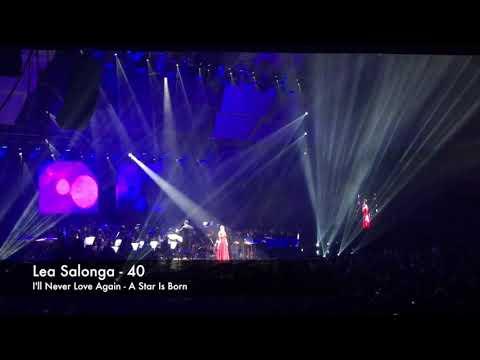 I'll Never Love Again - Lea Salonga (LIVE) - A Star Is Born - Lady Gaga