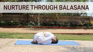Nurture through Balasana