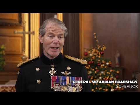 Christmas Cake Ceremony 2020 - Royal Hospital Chelsea