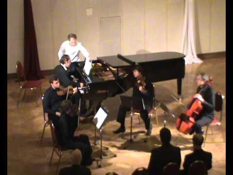 Arnold Bax Piano Quintet 3rd movt Live at Levoca