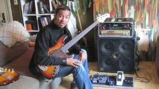 Using the new MXR 288 Bass Octave Deluxe