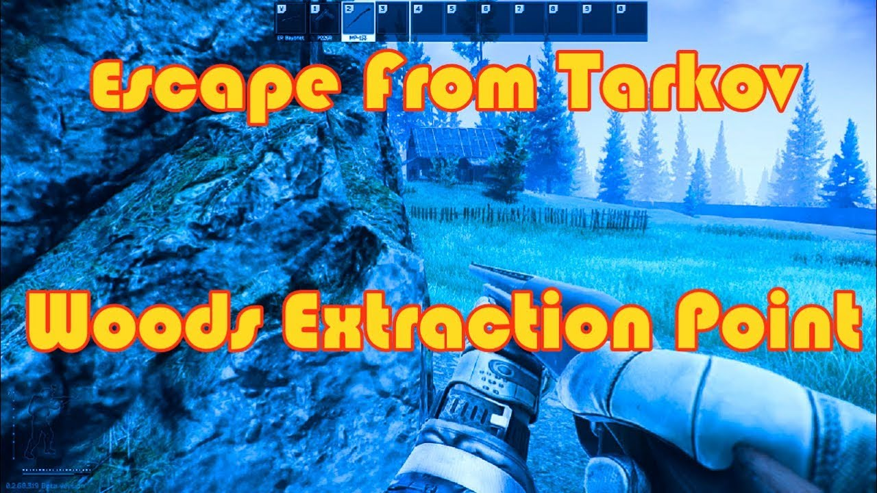 Escape From Tarkov Woods Extraction Point Youtube