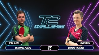 T2 Challenge | Season 2 | Match 7 : [Alpha] Mishel LEVINSKI vs Matilda EKHOLM [Omega]