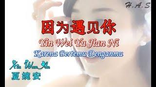 Yin Wei Yu Jian Ni 因为遇见你 夏婉安 [Karena Bertemu Denganmu]