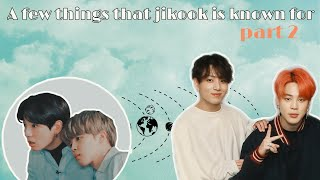 A few things that Jikook is known for: part 2 + BONUS