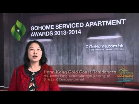 GoHome Serviced Apartment Awards 2014 - Hong Kong Gold Coast Residences, Sino Group