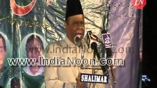 Ahmed Pasha Quadri MIM MLA latest speech at Toli Chowki Hyderabad on 20 January 2014
