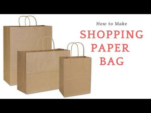 How To Make || Shopping Paper Bag || Paper Bag || Shopping bag