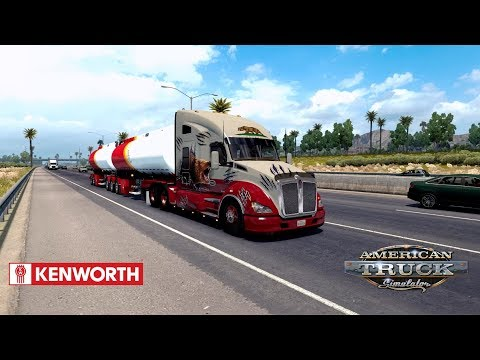 ATS 1.28 - Kenworth T680 - Los Angeles to Phoenix