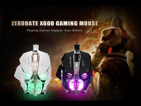 ZERODATE X600 Gaming Mouse