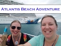 Adventure in Nassau ~ Finding the Free Beach @ Atlantis! Norwegian Cruise Vlog [ep23]