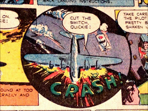 COMIC MAN PRODUCTIONS: ROYAL CROWN COLA  AD IN WONDER WOMAN COMIC BOOK 1947