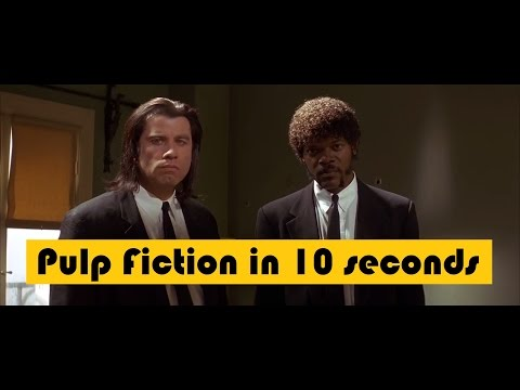 Pulp Fiction (1994) in 10 seconds