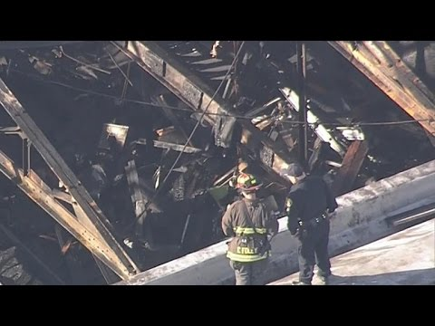 Coroner examining Oakland warehouse fire