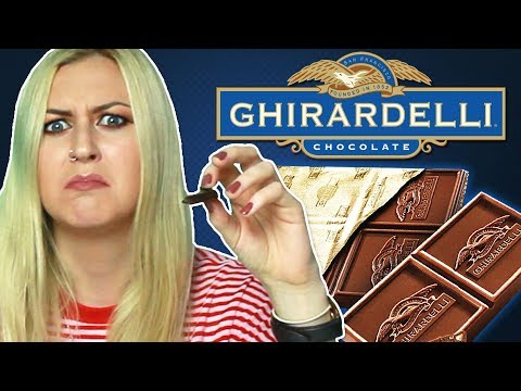 Irish People Try San Francisco Chocolate