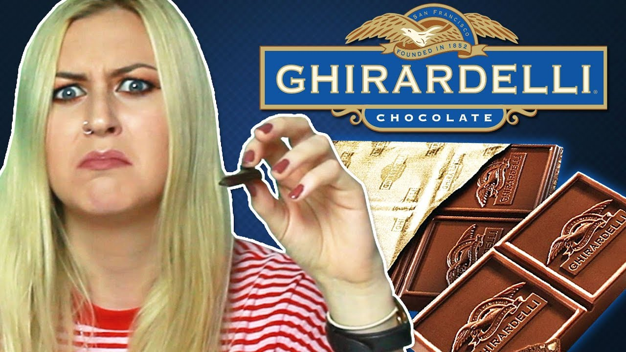 Irish People Try San Francisco Chocolate