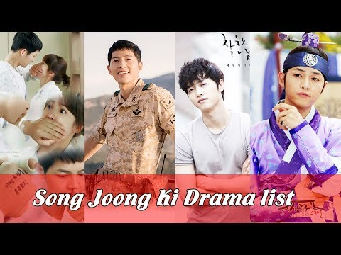 Song Joong Ki Drama List | Top 5 Famous Movies and Dramas of Song Joong Ki