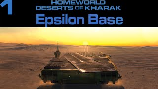 Homeworld: Deserts of Kharak Mission 1 Epsilon Base