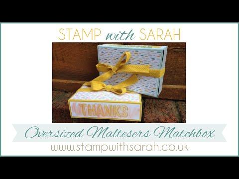 Oversized Maltesers Matchbox