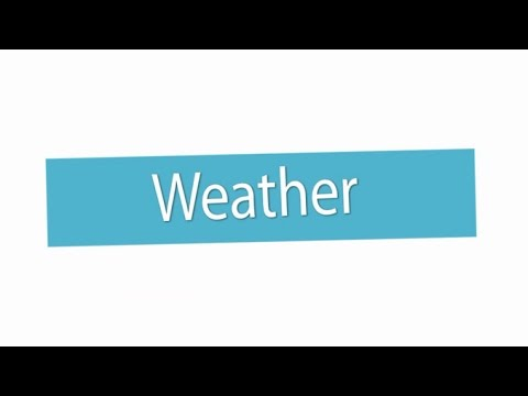 Weather ภาษาอังกฤษ ม.1
