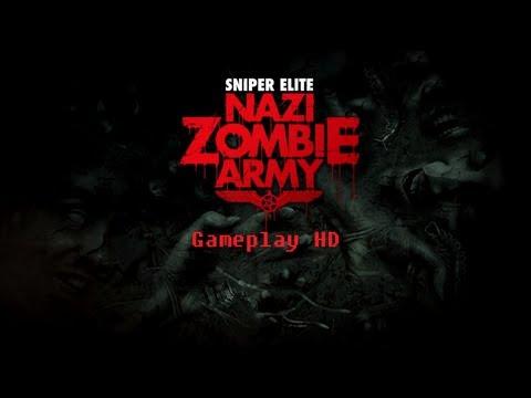 Sniper Elite: Nazi Zombie Army Gameplay [ PC HD ]  