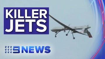 Defence Force trials unmanned jets | Nine News Australia