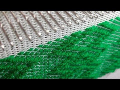 Tricotosa 8 Weaving Pattern Diseo De Trama Youtube