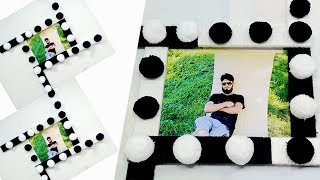 DIY Photo Frame out Of Woolen | How To Make Photo Frame At Home | Photo Frame Ideas
