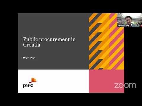 Webinar- Public Procurement in Croatia