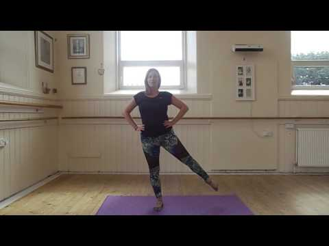 Standing Pilates Warm Up