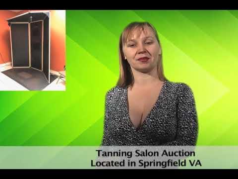 Tanning Salon Auction