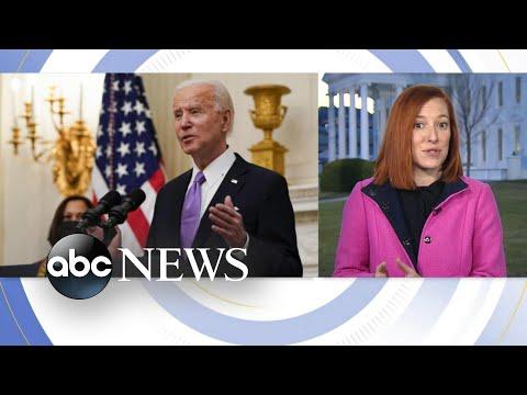 New White House Press Secretary discusses vaccine rollout plans l GMA