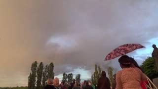 Падение самолета на авиашоу в Тамбове 7.7.17
