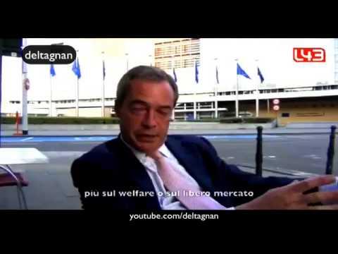 Entrevista a Nigel Farage leader del UK Independence Party