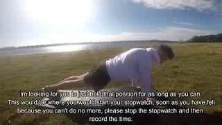 Plank Assessment