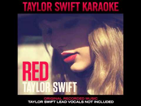 Taylor Swift - Red Karaoke Album + LINK DOWNLOAD
