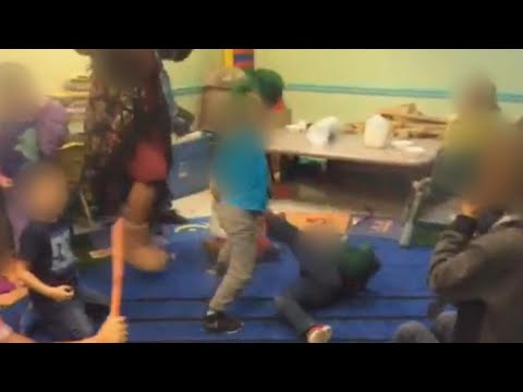 Scott Sloan - VIDEO: Day Care Center Under Fire For Toddler Fight Club