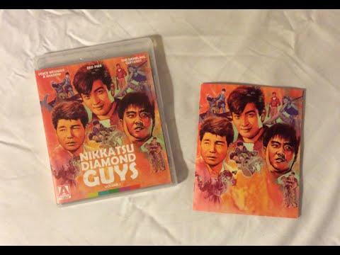 nikkatsu-diamond-guys:-volume-1---arrow-video-(1958-1959)-blu-ray-review-/-unboxing