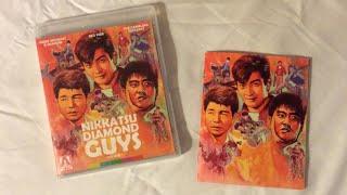 Nikkatsu Diamond Guys: Volume 1 - Arrow Video (1958-1959) Blu Ray Review / Unboxing