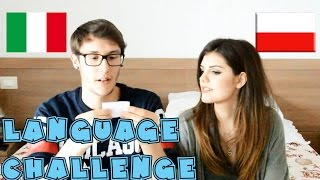 LANGUAGE CHALLENGE ITALIAN VS POLISH WITH MY GIRLFRIEND