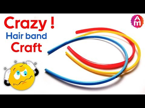 Best out of waste crafts idea from waste hair bands/ belts | DIY HOME DECOR