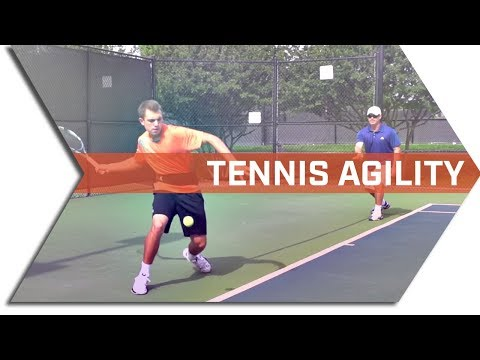 TENNIS SPEED & AGILITY DRILLS - GET FASTER ON THE TENNIS COURT - with T BAR M